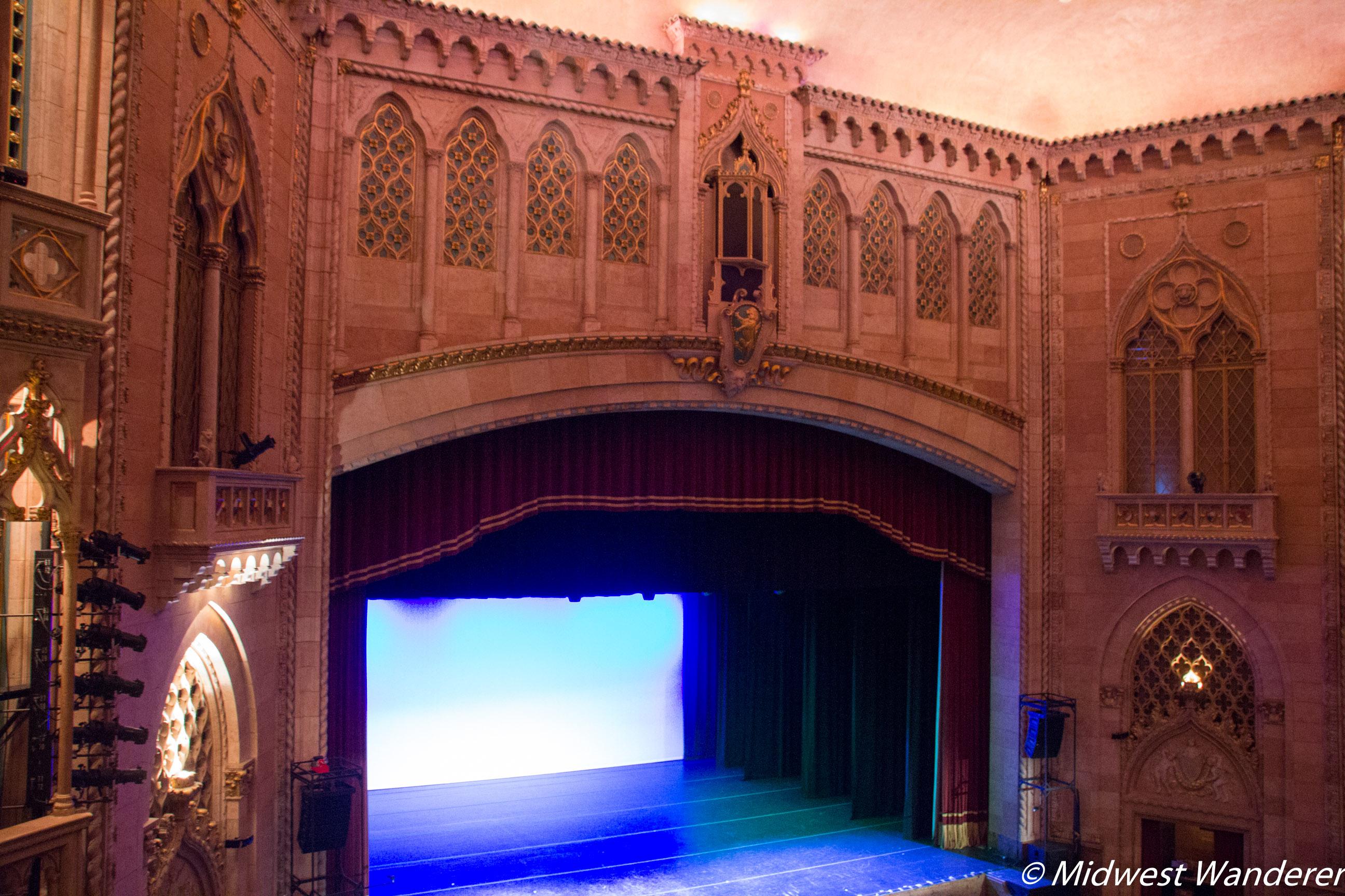 Hershey Theatre Lower Balcony View 2