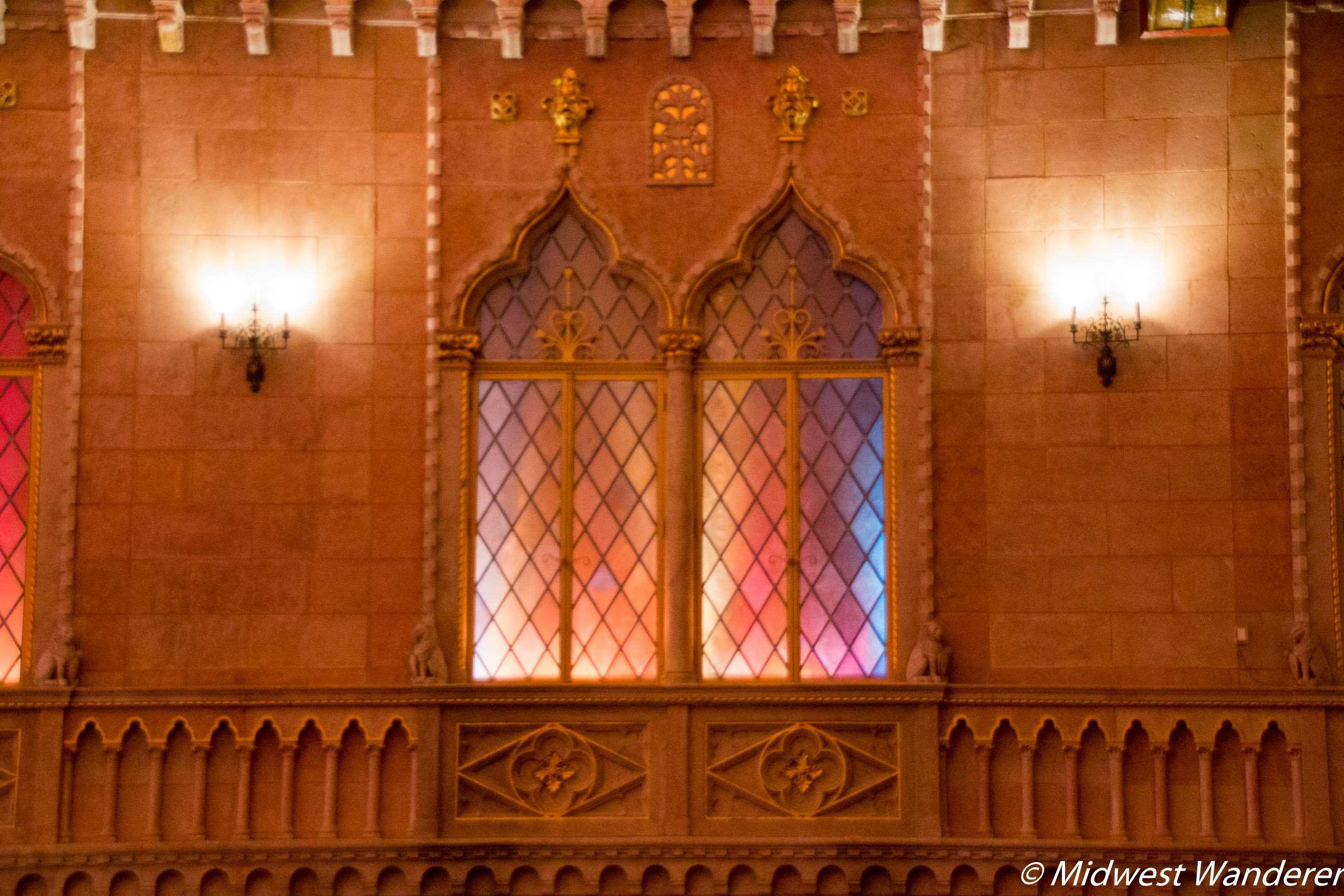 Hershey Theatre windows