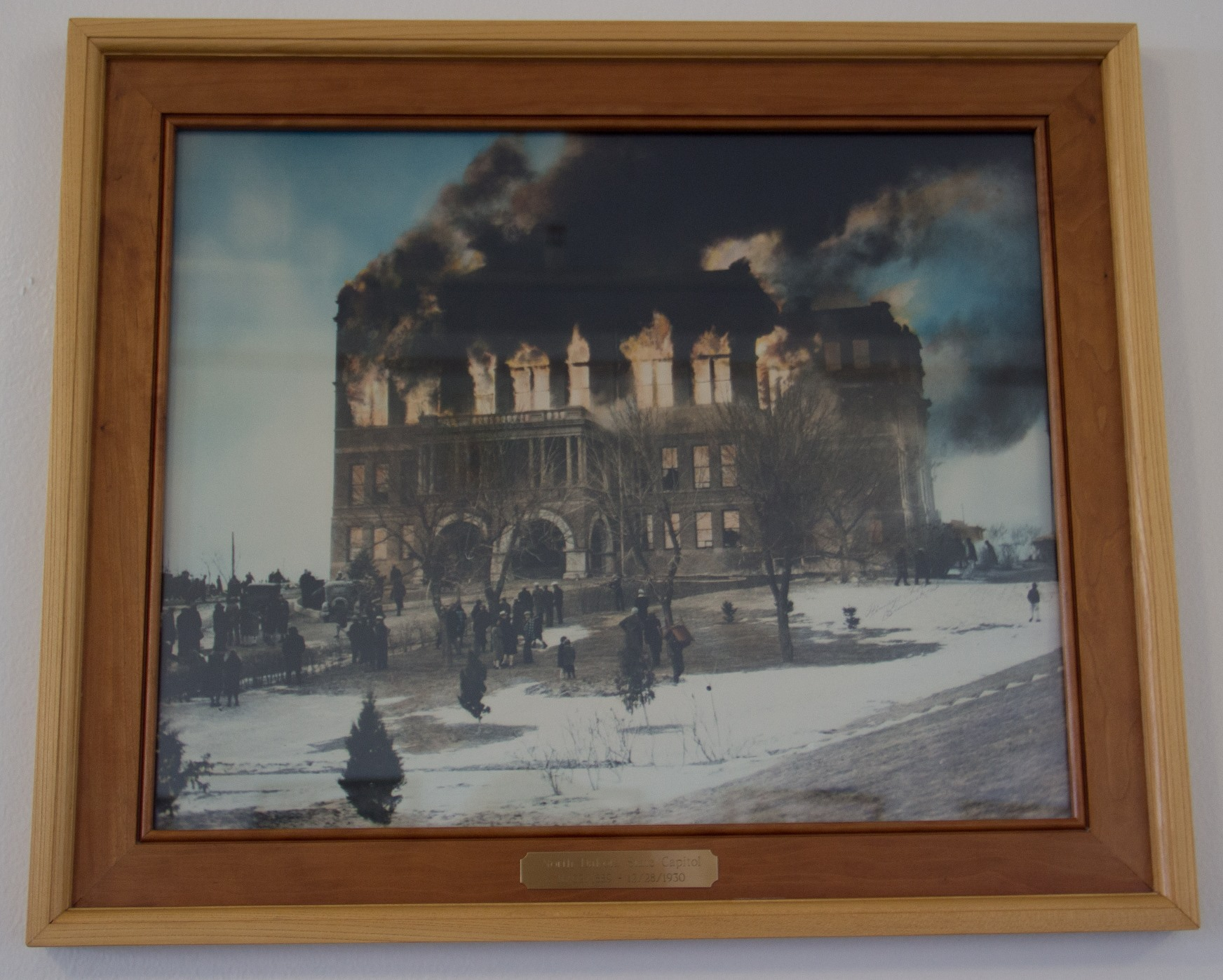 Old capitol fire