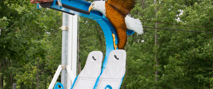 Riding the Family-Friendly Soaring Eagle Zip Line