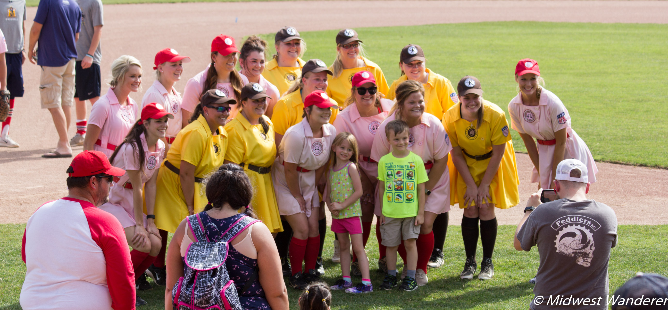 Dubois County Bombers - Peaches and Fans 1