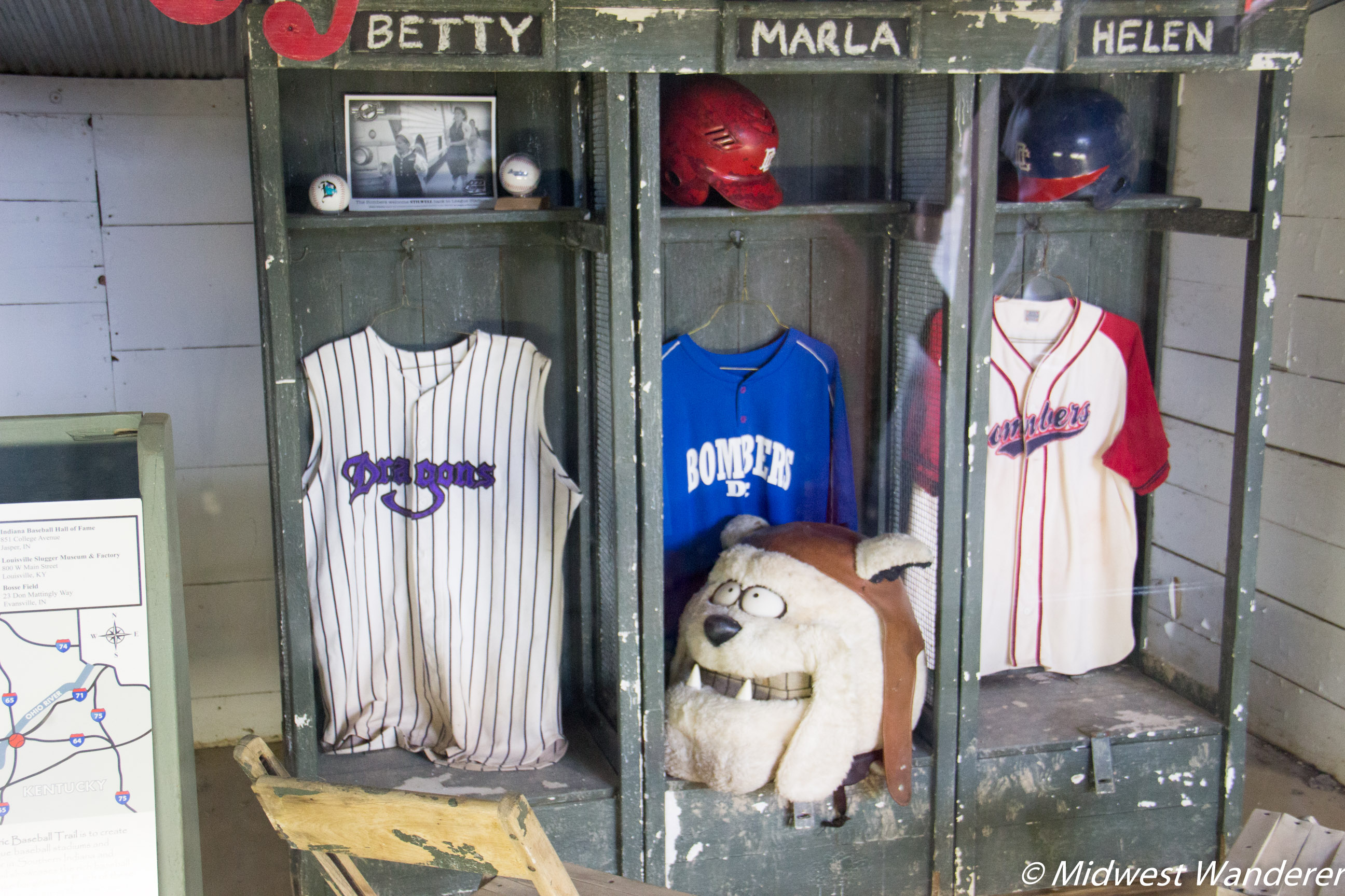 Locker from A League of Their Own