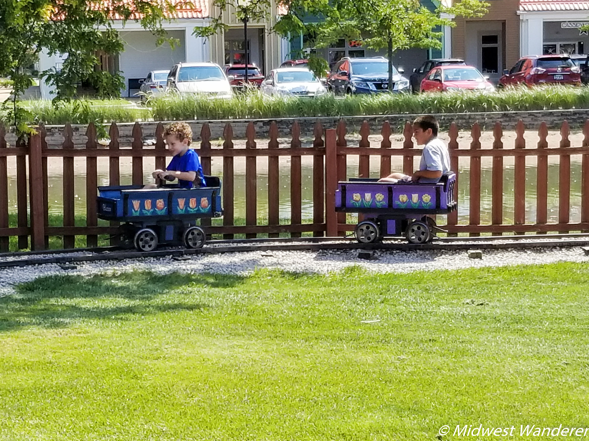Petal Pump Cars at Dutch Village