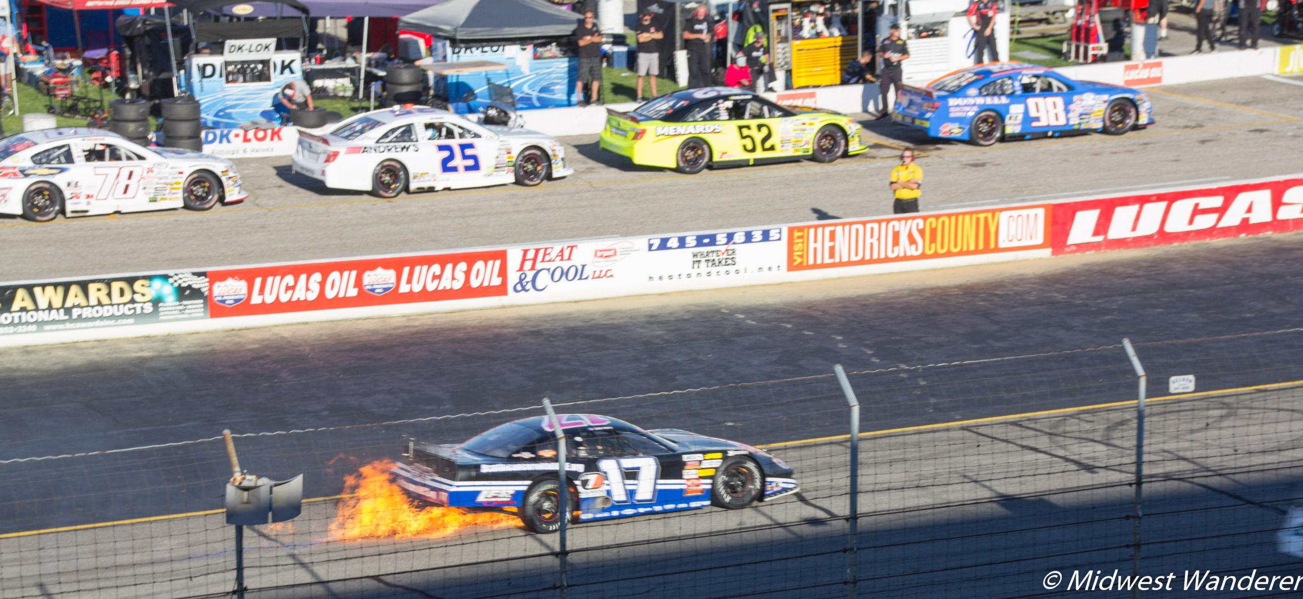 Lucas Oil Raceway - ARCA Souix Chief Power PEX 200 - 4