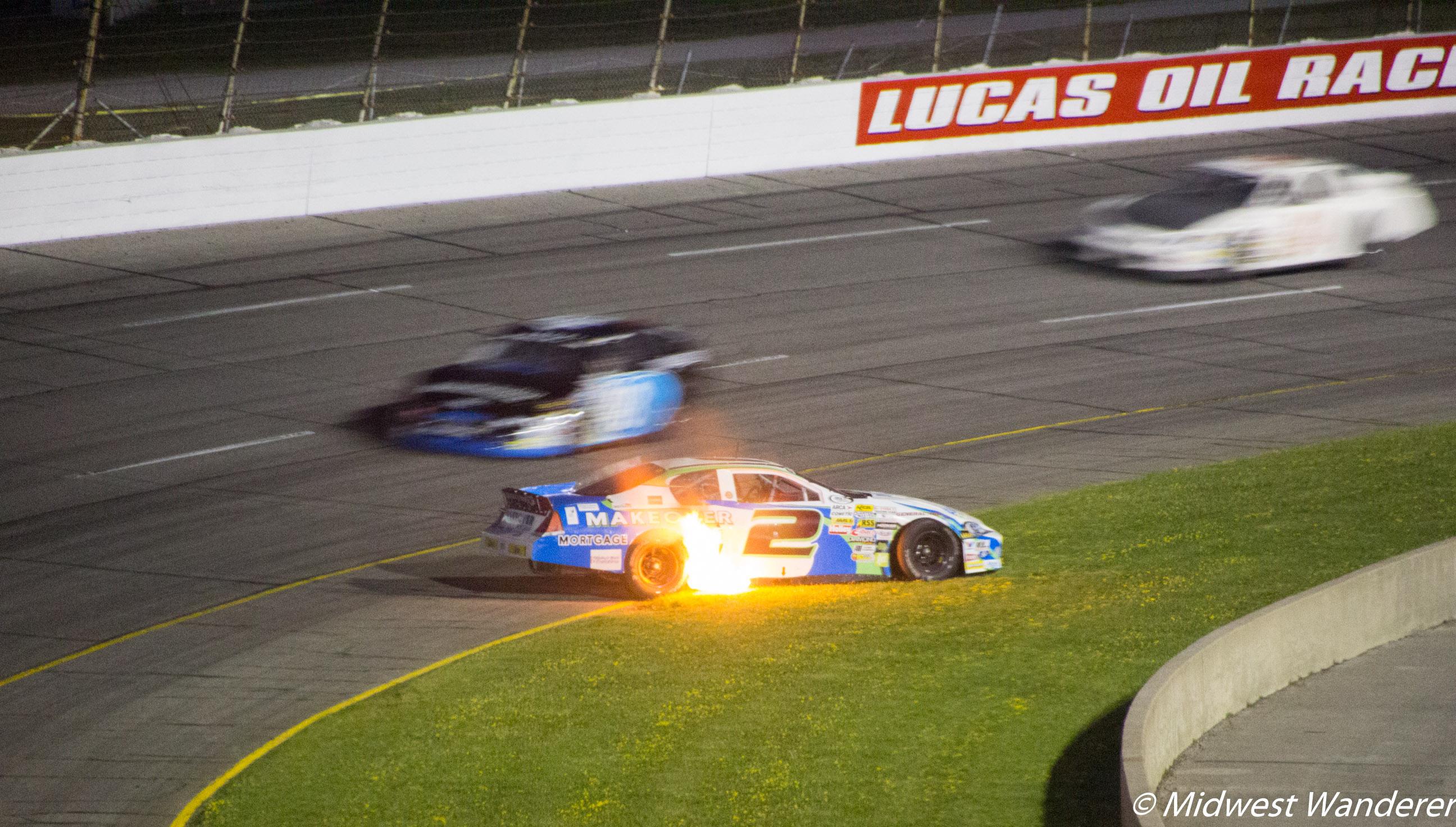 Lucas Oil Raceway - ARCA Souix Chief Power PEX 200 - 7