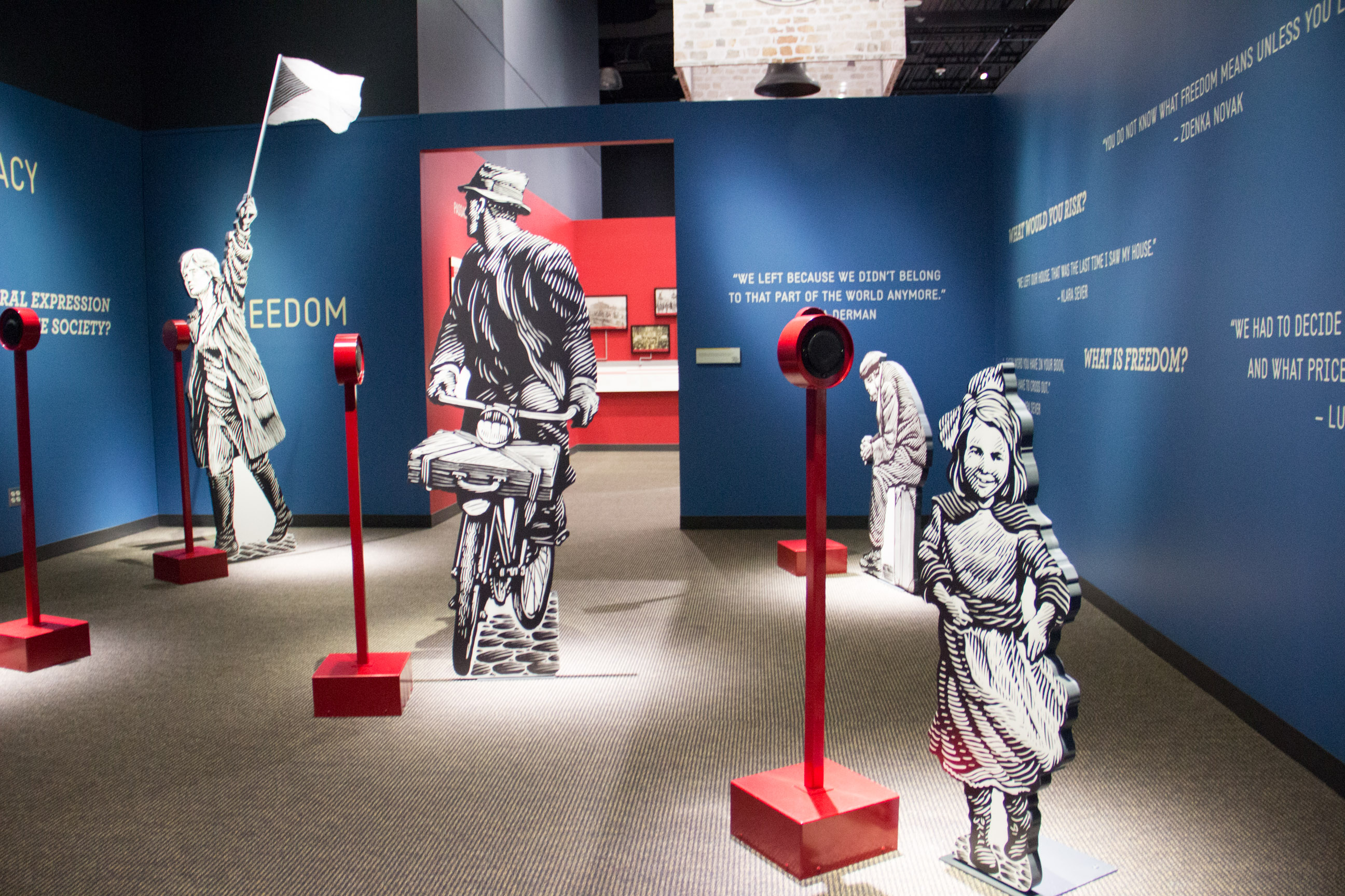 Natl Czech and Slovak Museum Faces of Freedom