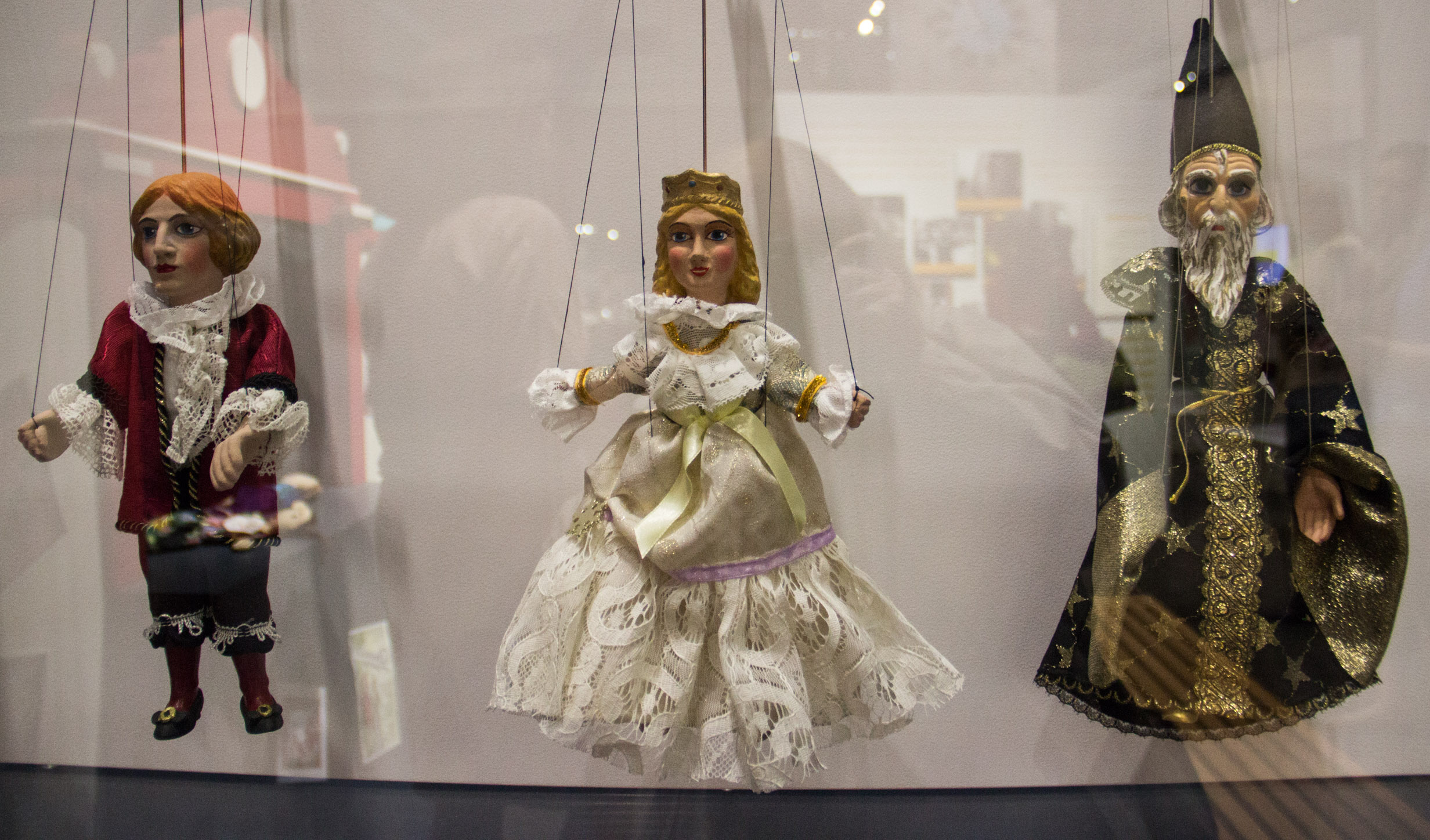 Puppets at the National Czech and Slovak Museum