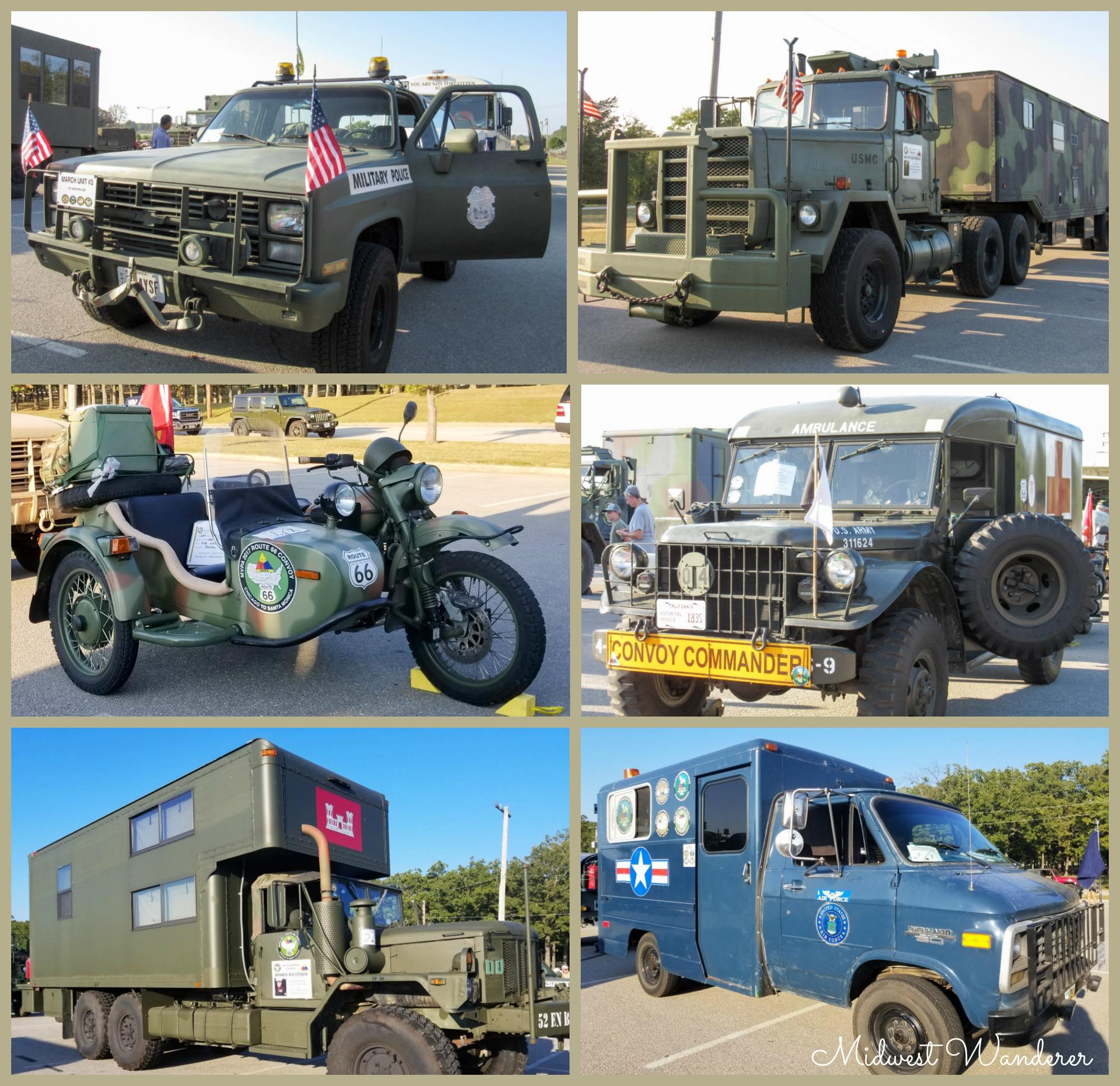 MVPA 2017 Route 66 Convoy - Collage 1