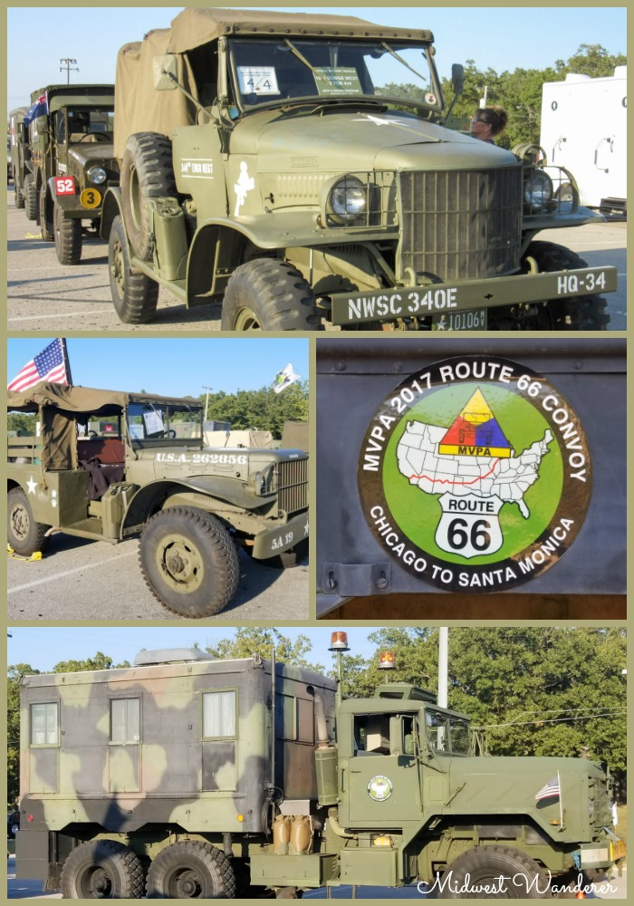MVPA 2017 Route 66 Convoy - Pin Collage