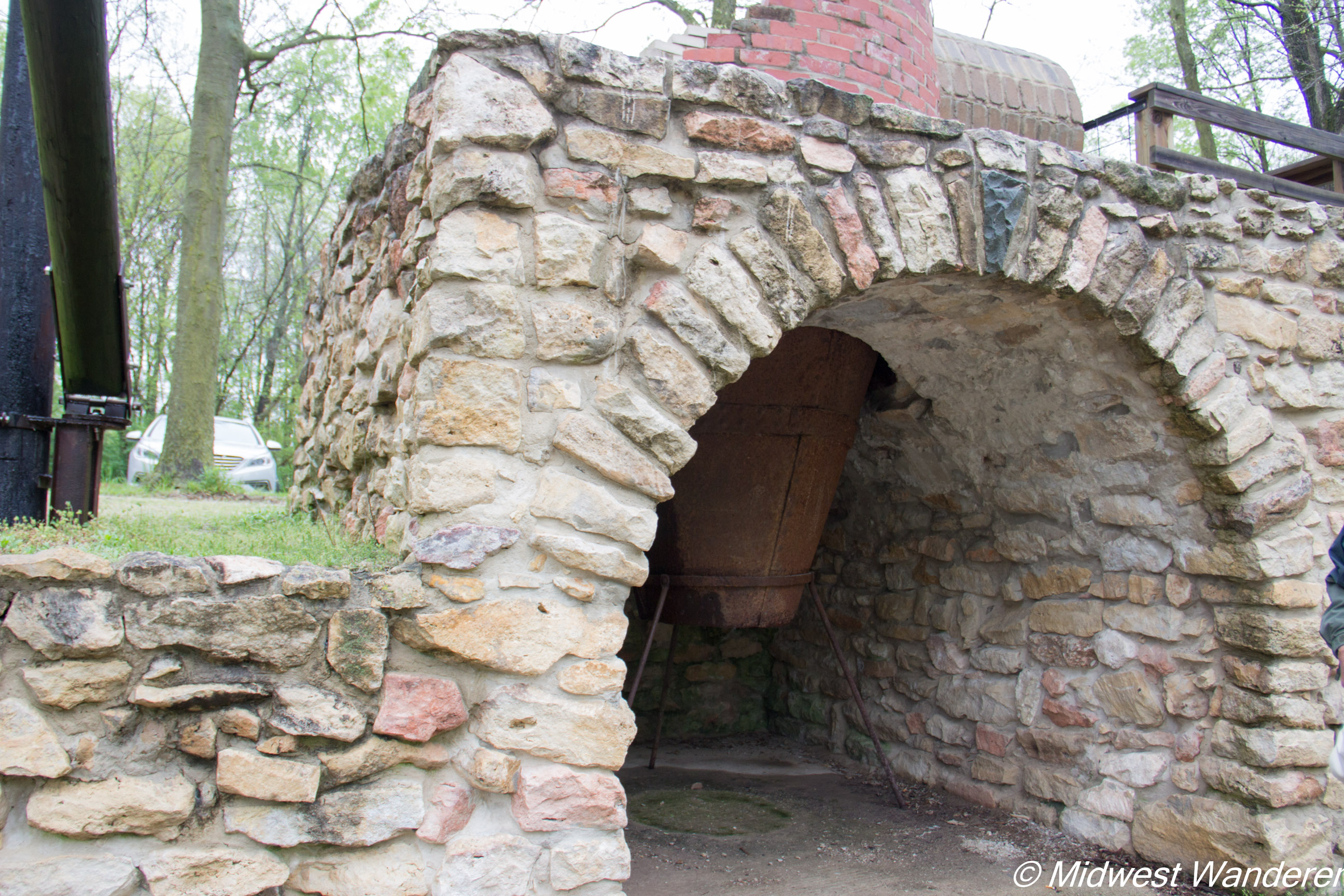 Wabash and Erie Canal kiln - 2