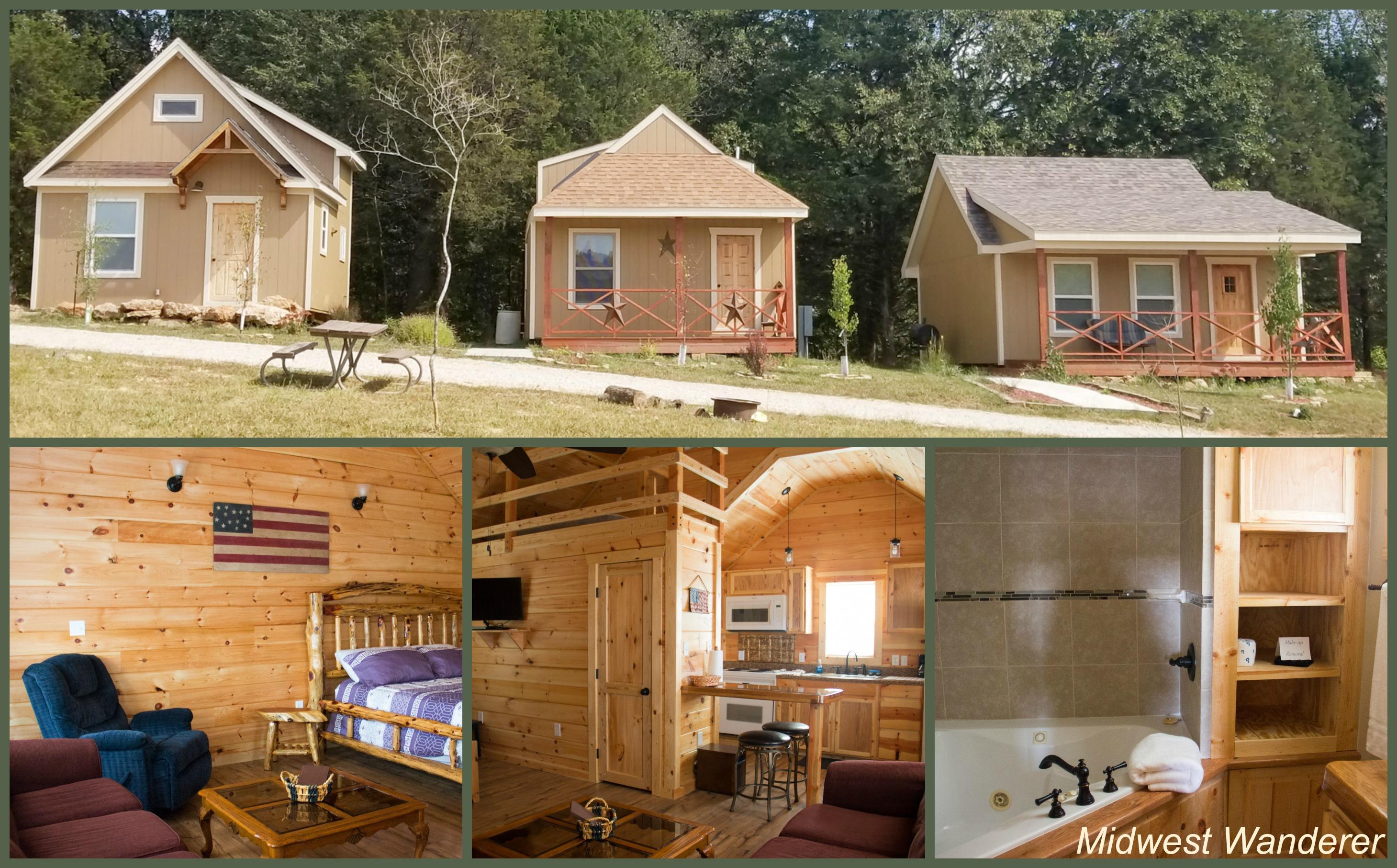 Rubys Landing cabins