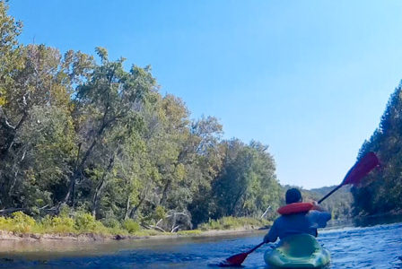 Ruby's Landing: Kayaking the Gasconade River