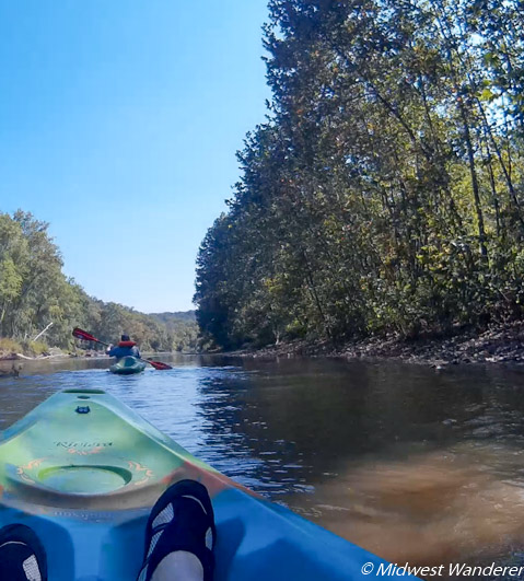 Rubys Landing kayak trip