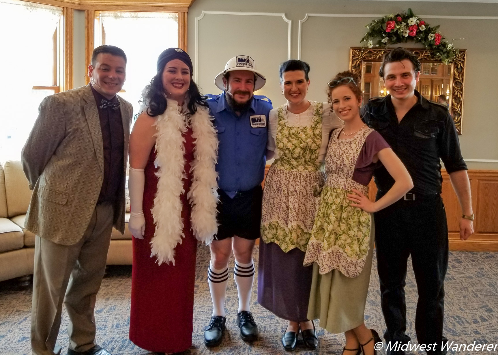 Cast of Mennonite Girls Can Cook