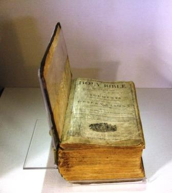 Lincoln family Bible