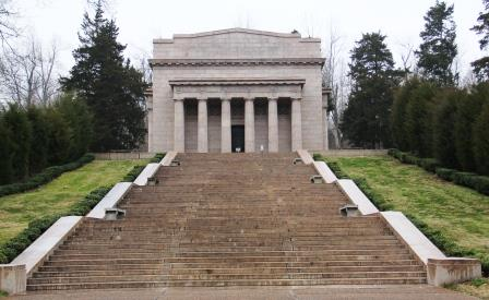 The First Lincoln Memorial at Abraham Lincoln Birthplace, Hodgenvlle, Kentucky