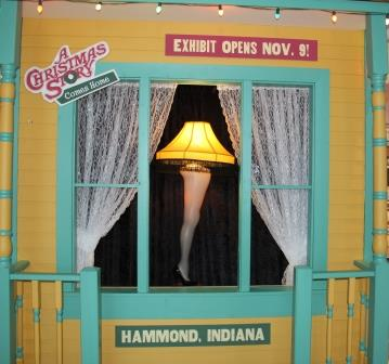 Indiana Welcome Center Celebrates 'A Christmas Story'