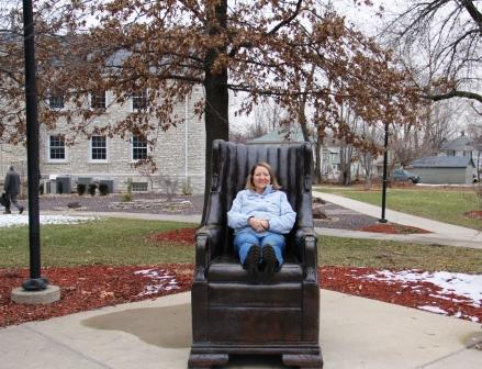 wadlow chair replica