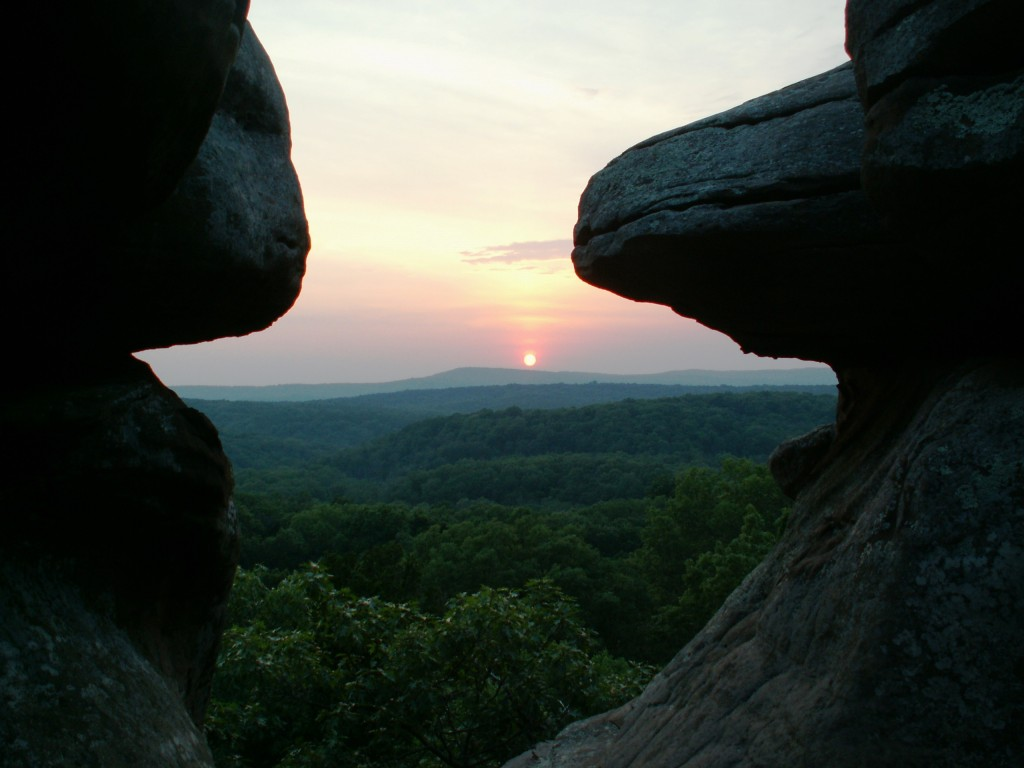 Shawnee National Forest And Cave In Rock State Park Southern Illinois Natural Beauty Midwest