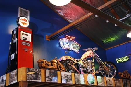 Poopy's Pub n' Grub, Savanna IL:  Popular Even with Non-bikers