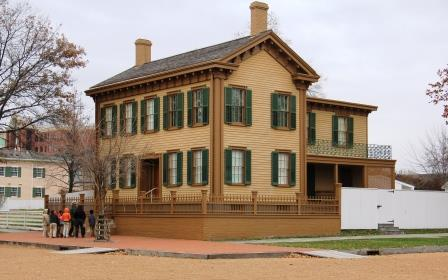 Tour the Lincoln Home for a Peek at President's Private Life, Springfield Illinois