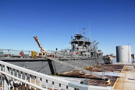 Tour the USS LST 325, Evansville Indiana