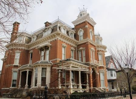 Tour a victorian mansion evansville s reitz home museum - Types of victorian homes ...
