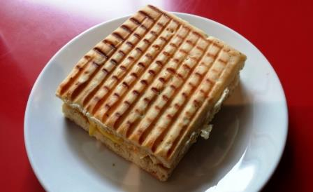 Breakfast Panini at the I Hotel and Conference Center in Champaign Illinois