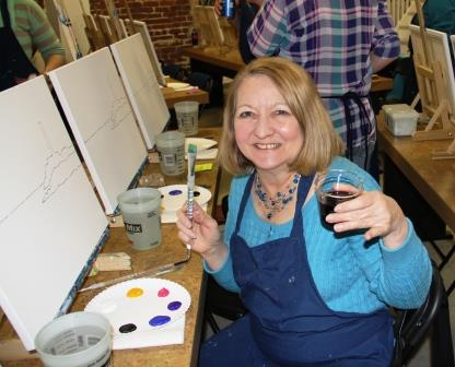 The Art Party Studio, Champaign IL: Discover Your Inner Artist