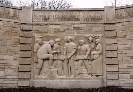 Carving_on_memorial_building