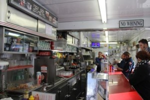 Cindys Diner Interior