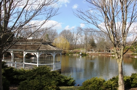Pond at Fort Wayne Children's Zoo
