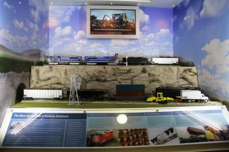 Railroad diorama