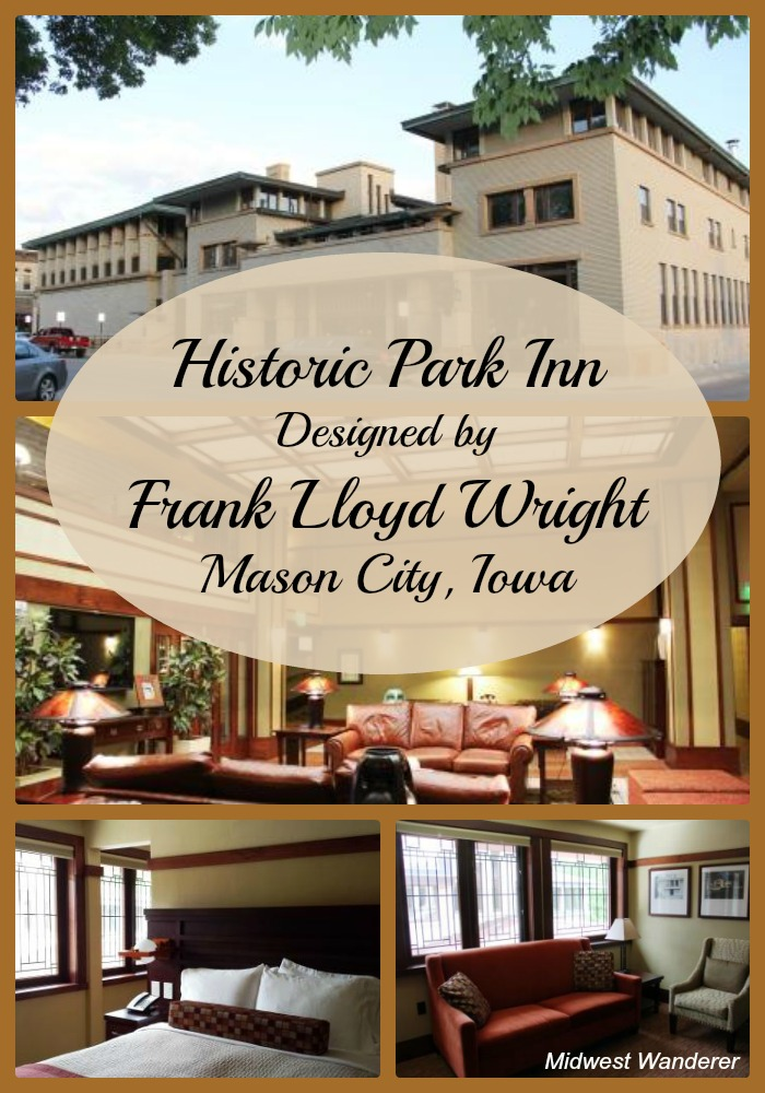 Historic Park Inn designed by Frank Lloyd Wright