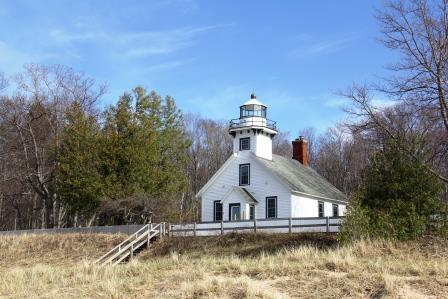 Tour Mission Point Lighthouse, Traverse City, Michigan