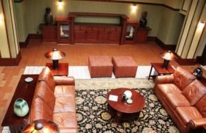Lobby from mezanine