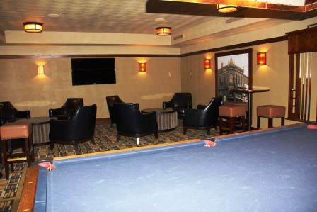 Lower level lounge