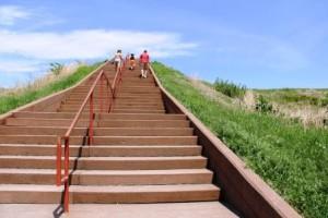 Monks Mound Steps