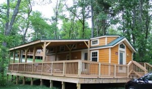 Our cabin exterior 2