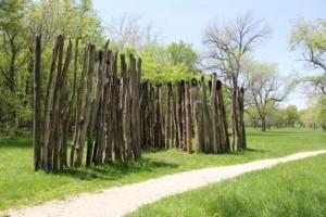 Stockade reconstruction