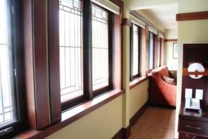 Windows in room 2