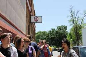 Brewery tour - outdoors