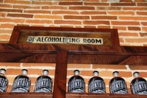 De-alcoholizing sign