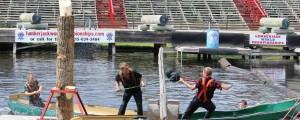 Canoe joust