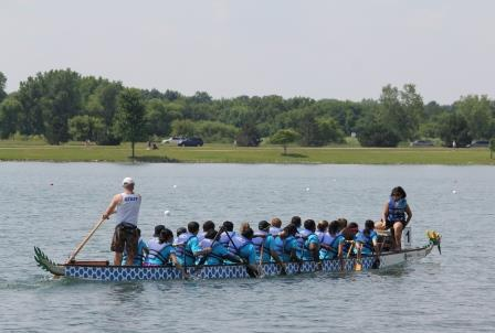 Helping the Dragon Boat Race Team Sink
