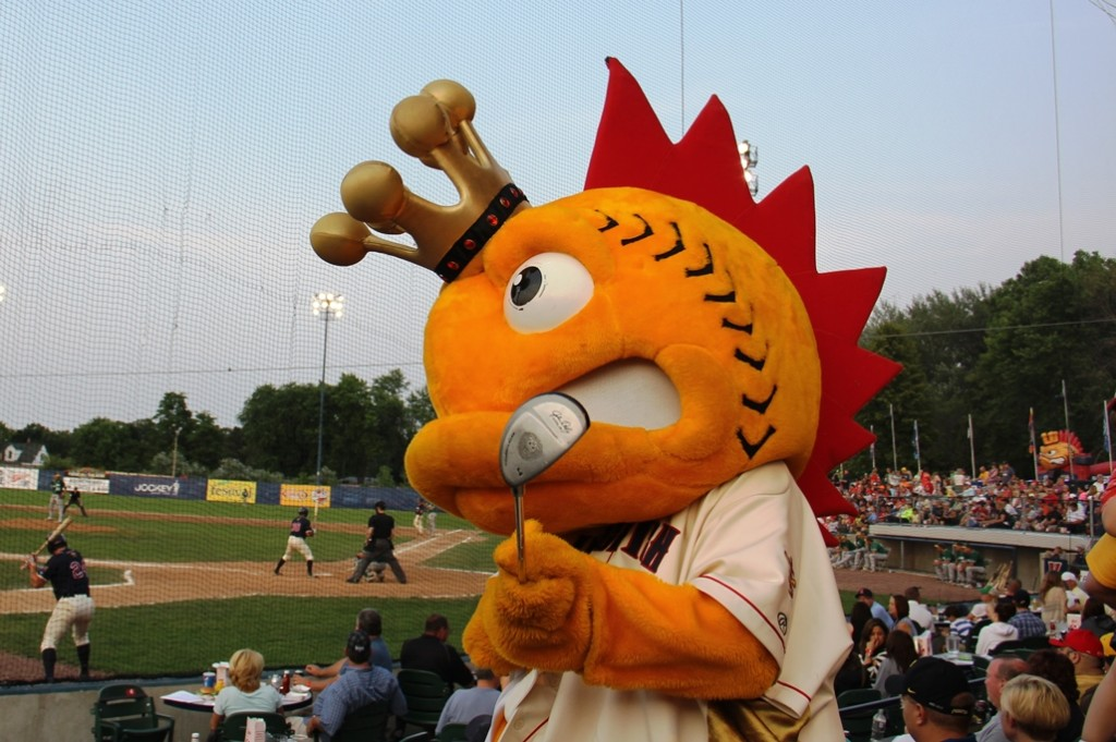 King Elvis the First, Kenosha Kingfish mascot