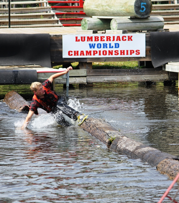 Fred Scheer's Lumberjack Show, Hayward WI: Skill, Competition, Laughter
