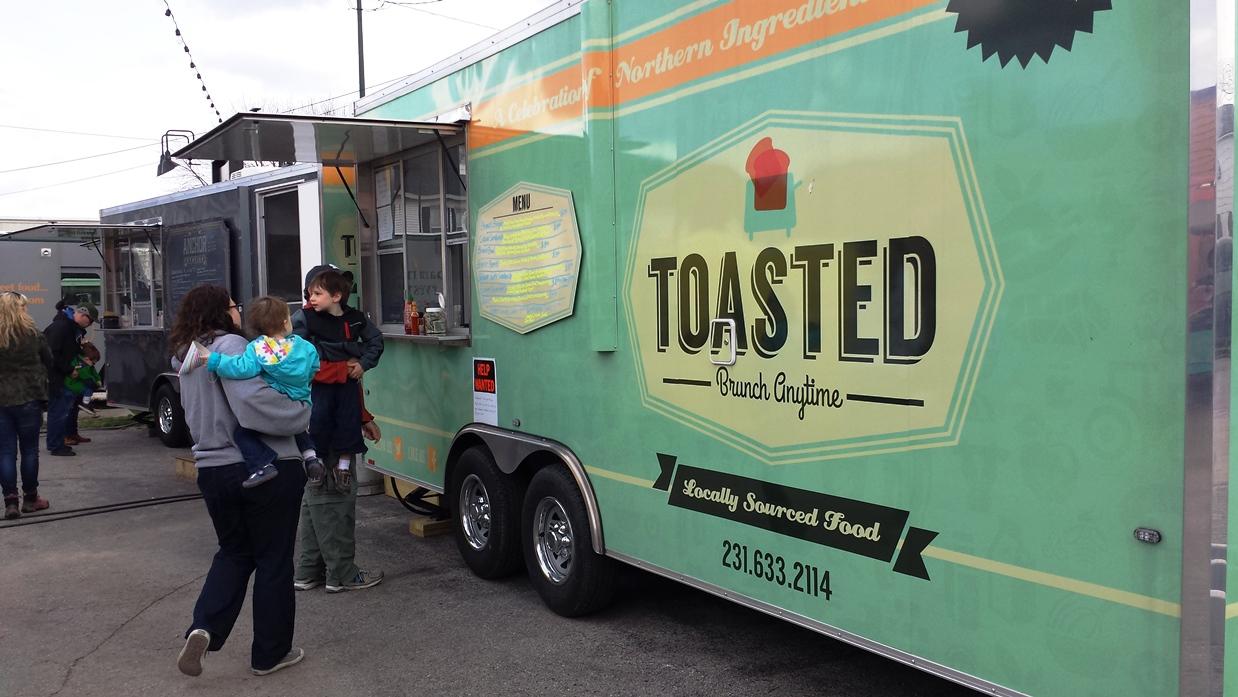 The Little Fleet, Traverse City MI: Food Truck Bliss