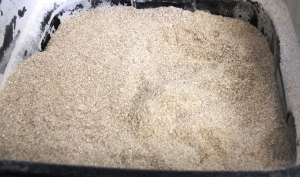 Ground grain