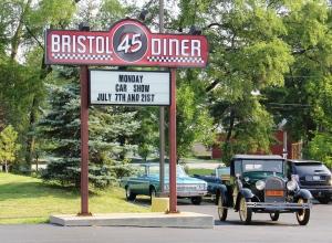 Bristol 45 sign